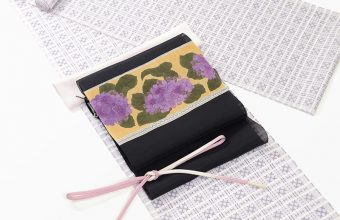 コーディネート「大島紬と染め帯」