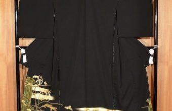 黒留袖 豊穣