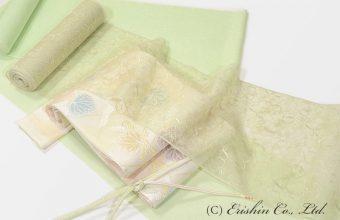 紋紗小紋と夏の羽織りものに紗袋帯
