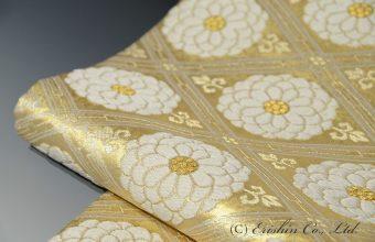 袋帯(菊華菱文/本金)