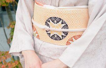 有職織物の名古屋帯 二陪織物と穀の帯