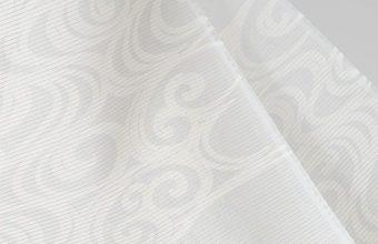 正絹ウォッシャブル絽長襦袢(観世水/白鼠色)
