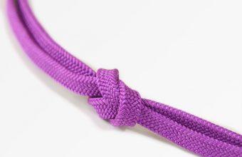 帯締め 細平唐組(紅紫色)夏・単衣を中心に