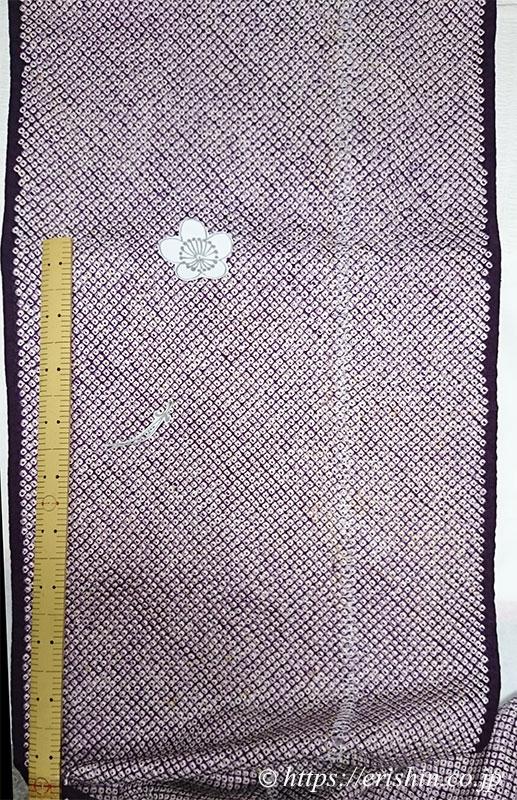 リフォーム例(絞り羽織に刺繍)