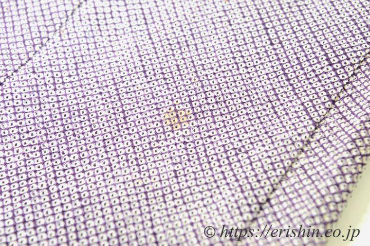 リフォーム例(絞り羽織・加工前のシミ)