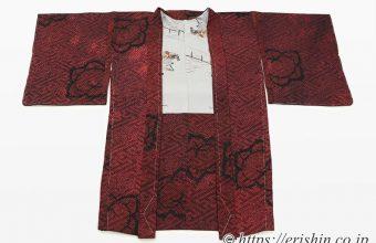 リメイク 着物から羽織へ