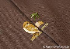 お洒落紋のお誂え 止まり木の雀