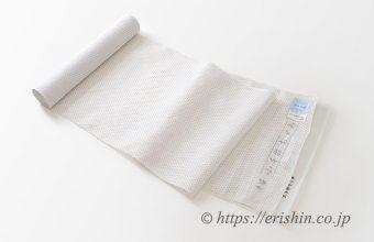 小千谷縮(蚊絣/白)広巾