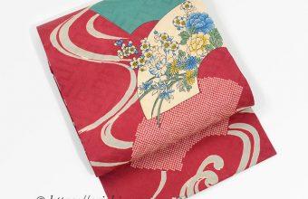 羽織 帯 リメイク