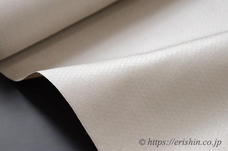 菊池洋守 八丈織/まるまなこ織 白茶色