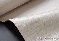菊池洋守 八丈織(まるまなこ織・白茶色)