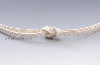 三分紐 帯締め兼用(貝の口亀甲組/極薄香)