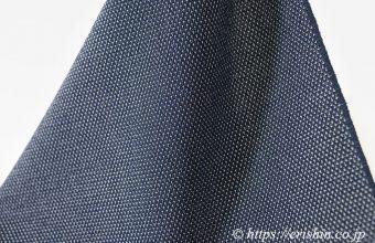 本塩沢(蚊絣/藍鉄色) [単衣用]