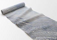 誉田屋源兵衛 浴衣(綿麻・弁柄嵐絞り)広巾