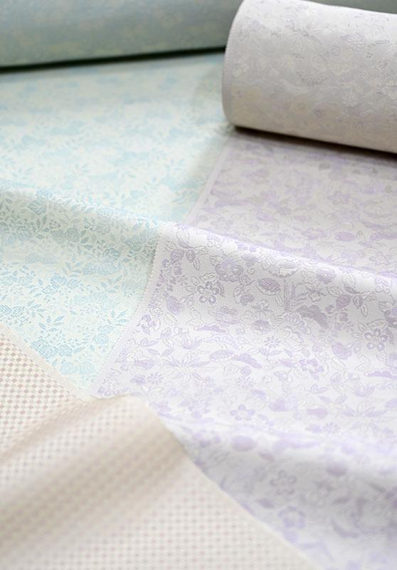 洗える絹の着物「丹後織御召」反物