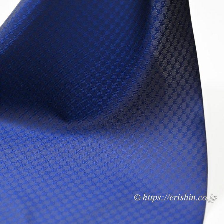 オリジナル羽織もの「市松on市松」の生地質感