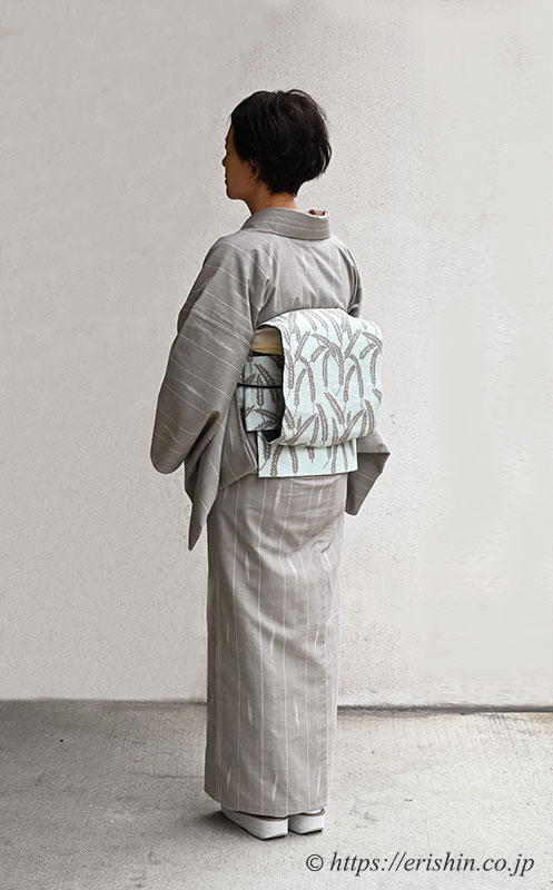 自由型二部式帯ご着用の兵庫県E様