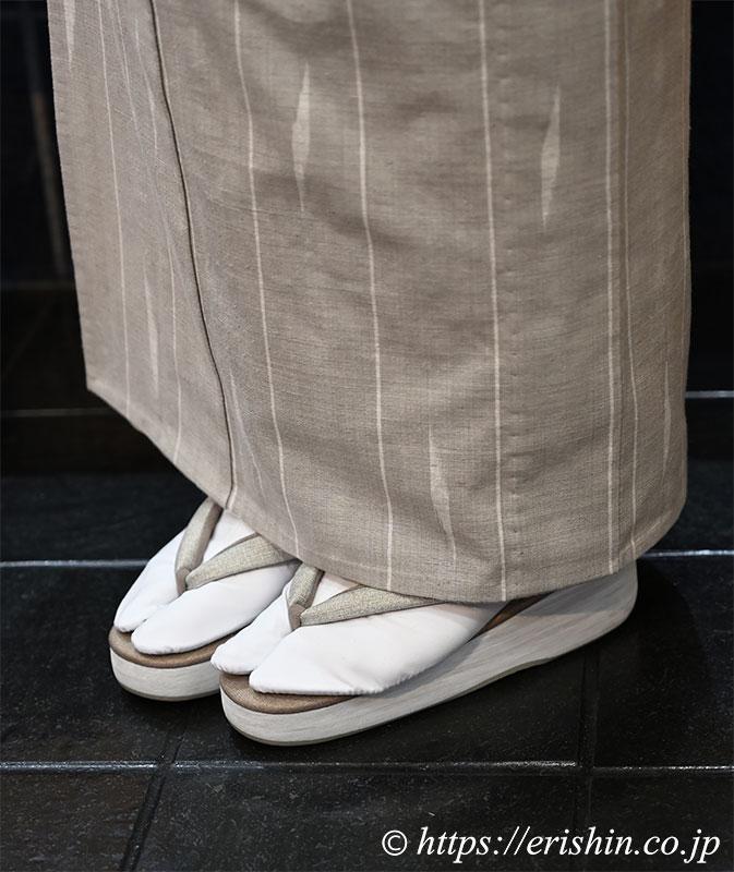 兵庫県 E様 芝崎圭一作の木綿着物