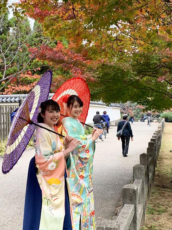 兵庫県I様ご姉妹 姫路城にて