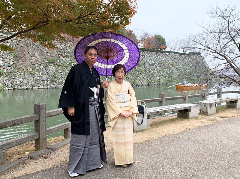 兵庫県I様 姫路城にて