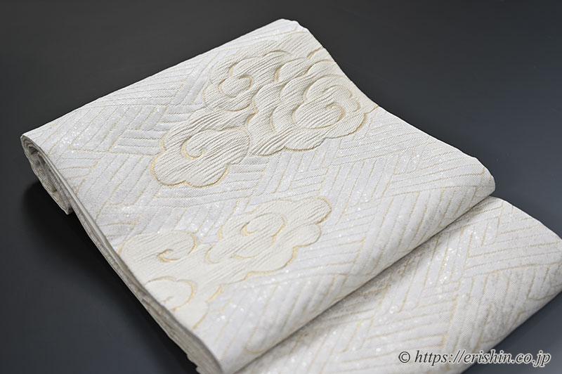 袋帯(東照宮端雲文)