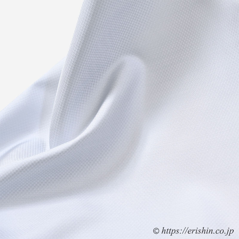 勝山さと子作(絹雲織/ブルーグレイ)着物・反物